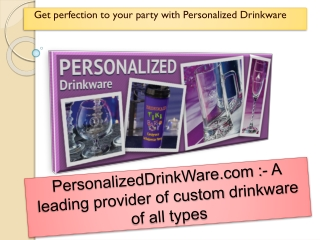 Get Custom Koozies for Wedding at Personalizeddrinkware.com