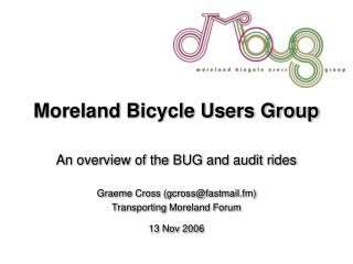 Moreland Bicycle Users Group