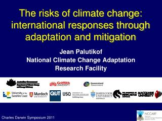 The risks of climate change: international responses through adaptation and mitigation