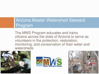 Arizona Master Watershed Steward Program
