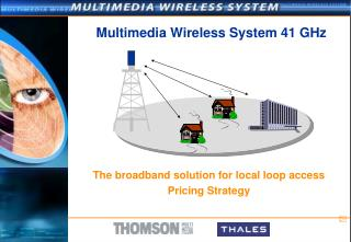 Multimedia Wireless System 41 GHz