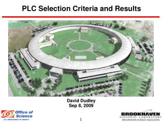 PLC Selection Criteria and Results
