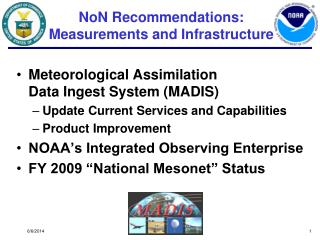 NoN Recommendations:  Measurements and Infrastructure
