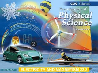 ELECTRICITY AND MAGNETISM 22.3
