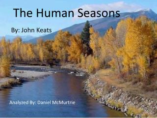 The Human Seasons