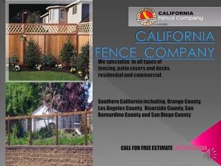 California Fence Company