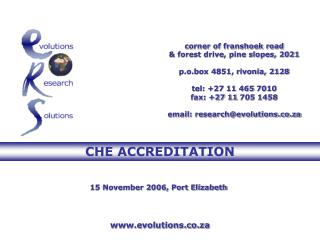corner of franshoek road  & forest drive, pine slopes, 2021 p.o.box 4851, rivonia, 2128 tel: +27 11  465 7010 fax: +27 1