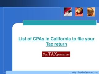 Besttaxpreparers California