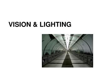 VISION & LIGHTING