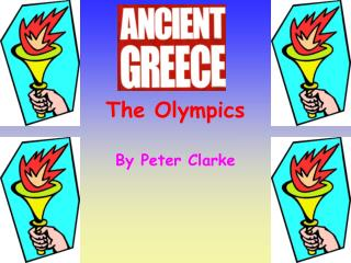 compare olympics greek to current