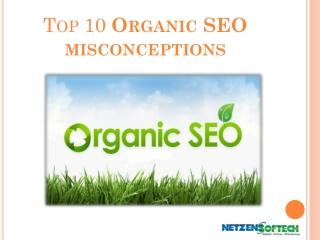 Top 10 Myths of Organic SEO