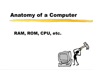 Anatomy of a Computer
