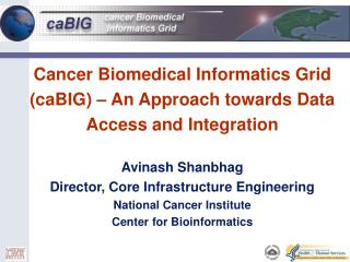 Cancer Biomedical Informatics Grid caBIG   An Approach towards Data Access and Integration