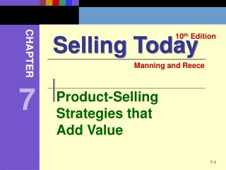 Product-Selling Strategies that Add Value
