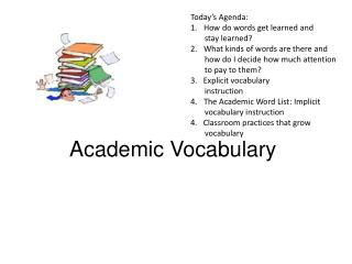 Academic Vocabulary