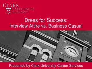 Dress for Success: Interview Attire vs. Business Casual