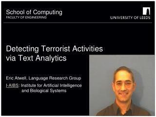 Detecting Terrorist Activities via Text Analytics
