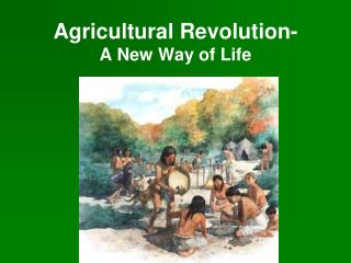 Agricultural Revolution-  A New Way of Life