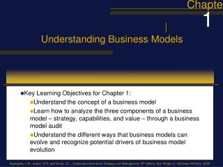 Understanding Business Models