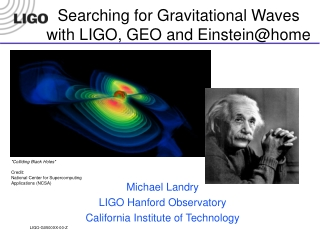 Searching for Gravitational Waves with LIGO, GEO and Einstein@home