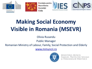 For a better employment and social inclusion of Roma High level event on Structural Funds contribution to Roma integrati