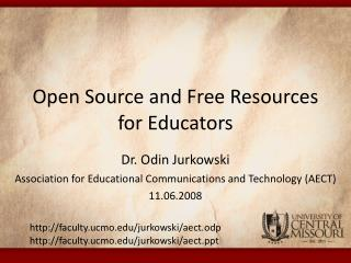 Open Source and Free Resources for Educators