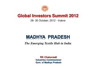28- 30 October, 2012 - Indore