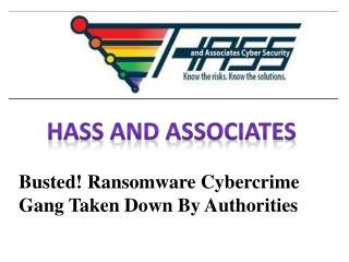Busted! Ransomware cyberkriminalitet banden taget ned af my