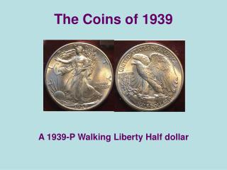 The Coins of 1939