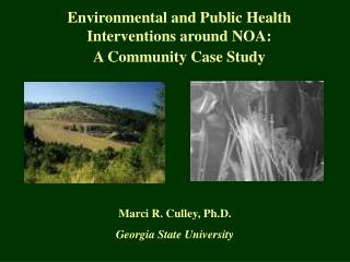 Environmental and Public Health Interventions around NOA:  A Community Case Study