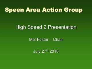 Speen Area Action Group