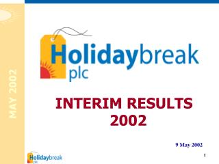 INTERIM RESULTS 2002