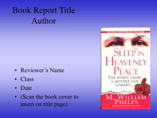 Book Report Title Author