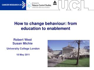 How to change behaviour: from education to enablement