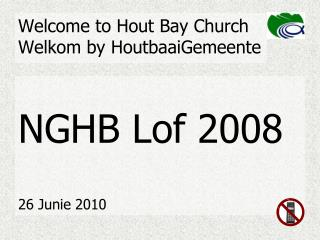 Welcome to Hout Bay Church Welkom by HoutbaaiGemeente