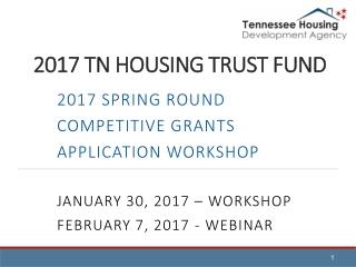 2017 TN HOUSING TRUST FUND