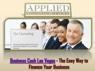 Business Cash Las Vegas