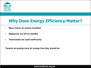 Why Does Energy Efficiency Matter?