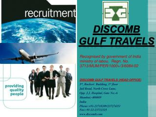 DISCOMB GULF TRAVELS
