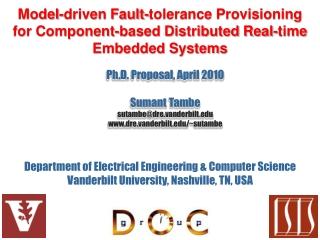 Department of Electrical Engineering & Computer Science Vanderbilt University, Nashville, TN, USA