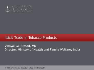 Illicit Trade in Tobacco Products