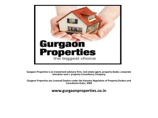 Dwarka Express Way Gurgaon | Gurgaon properties | Residentia
