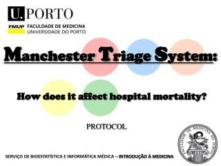 Manchester Triage System:  How does it affect hospital mortality
