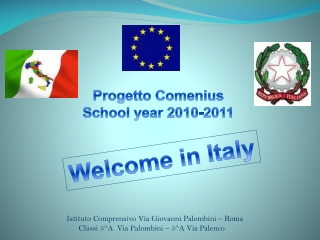 Welcome in Italy
