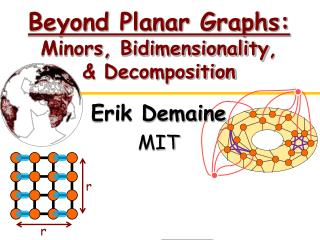 Beyond Planar Graphs:  Minors,  Bidimensionality , & Decomposition