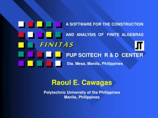 PUP SCITECH  R & D  CENTER