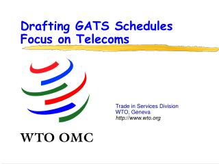 Drafting GATS Schedules Focus on Telecoms