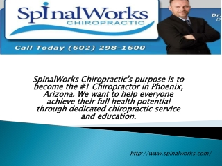SpinalWorks Appointment Schedule