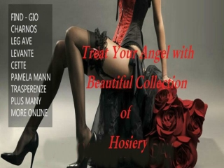 Treat Your Angel with Beautiful Collection of Hosiery
