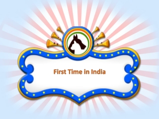 First Time in India with huge chain of exclusive pet product